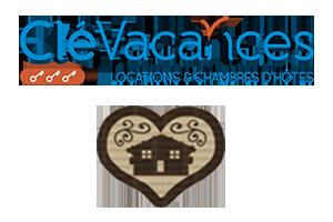 Logo Clévacances ambiance montagne